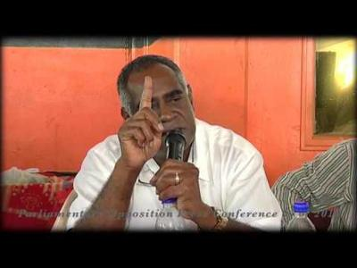 Opposition Leader Alatoi Ishmael Kalsakau