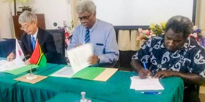 Vt26million from Japan GGP to upgrade school in Luganville
