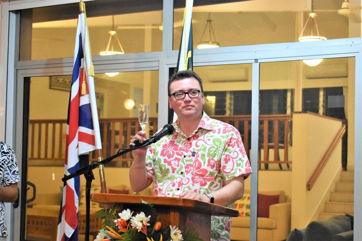 British High Commissioner David Ward