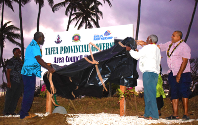 Construction Training Courses delivered in Tafea Province