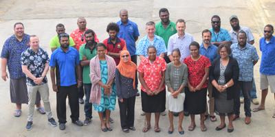 VMGD Funds Van-KIRAP Workshop with CSIRO and SPREP