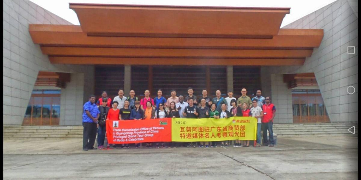 Vanuatu and China must develop their tourism links: VTO Chairman