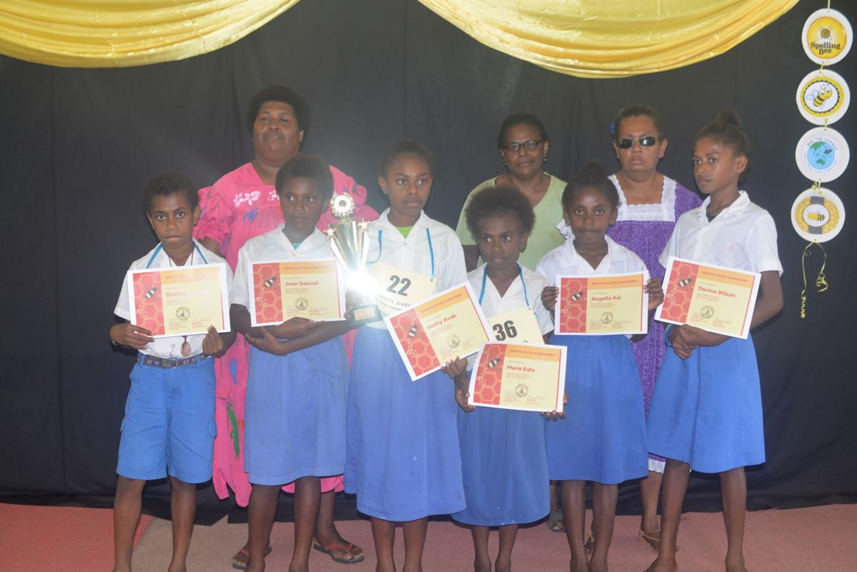 Peacecorp conducts Spelling Bee competition for six Efate schools