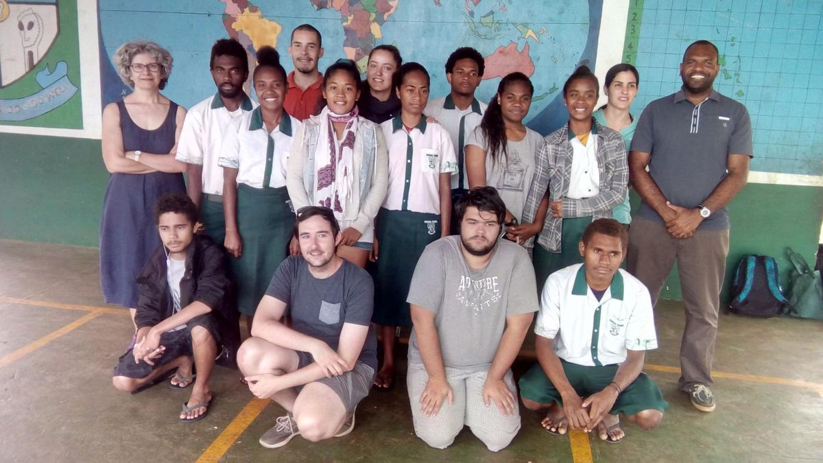 New Caledonia students satisfied with Vanuatu tour