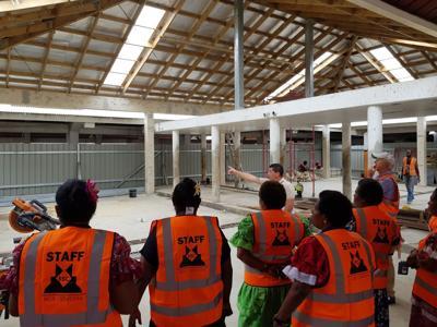 Port Vila Central Market Upgrade Underway