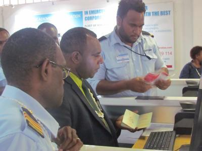 Minister of Internal Affairs processes first passport