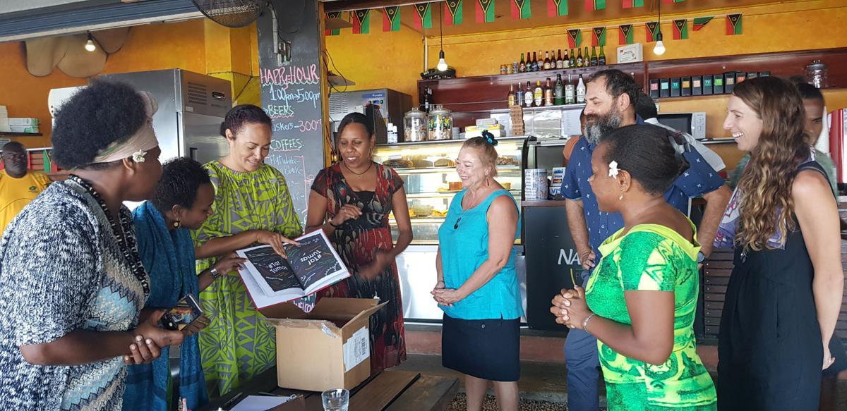 First children's book about real-life inspiring ni-Vanuatu
