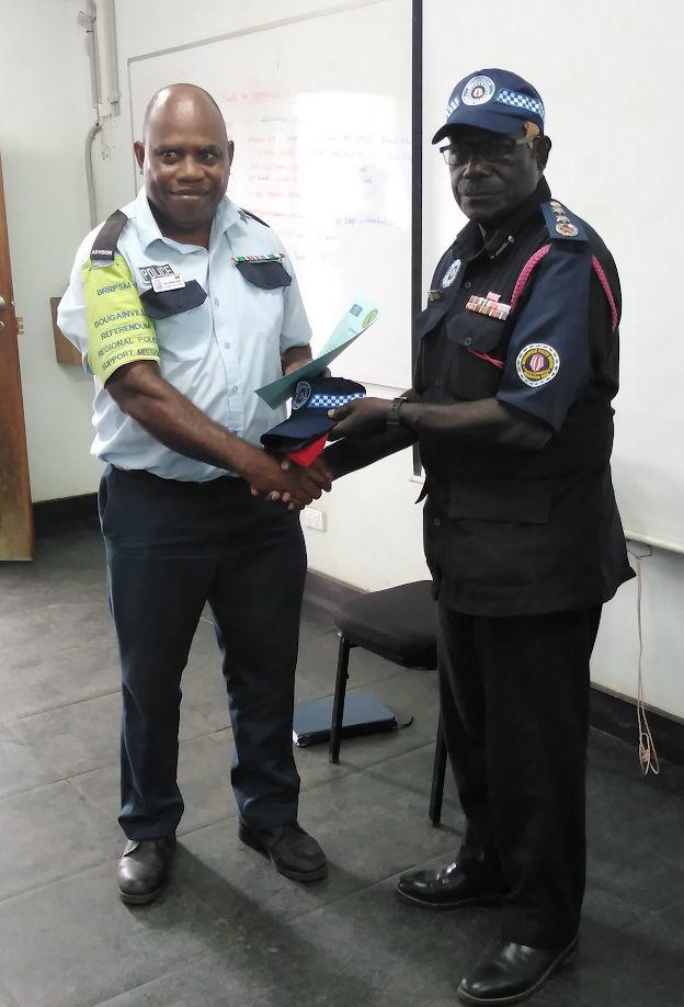 Officers return after representing Vanuatu in Bouganville Referendum