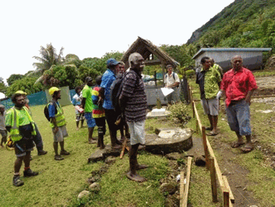 Induction and commencement of Futuna Primary School project