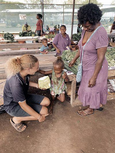 USC nappy project changing lives in Vanuatu