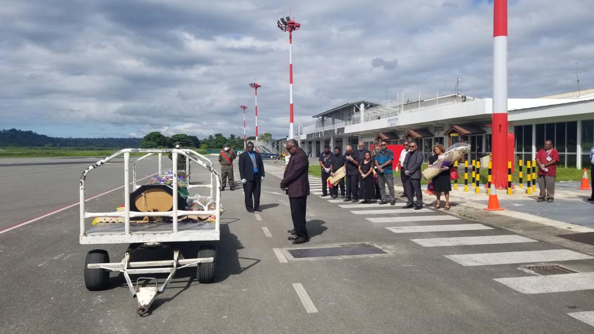 Gov't and Opposition leaders pay last respects to Vanuatu's first female MP