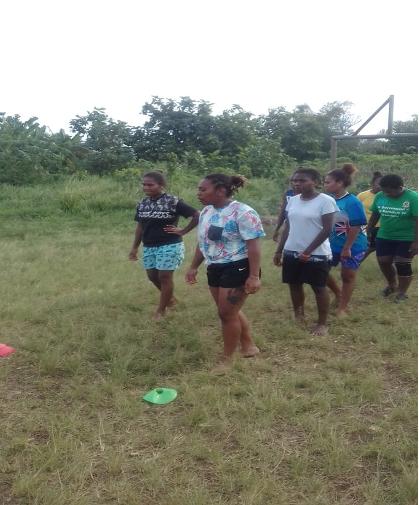 Women's rugby month preparation underway