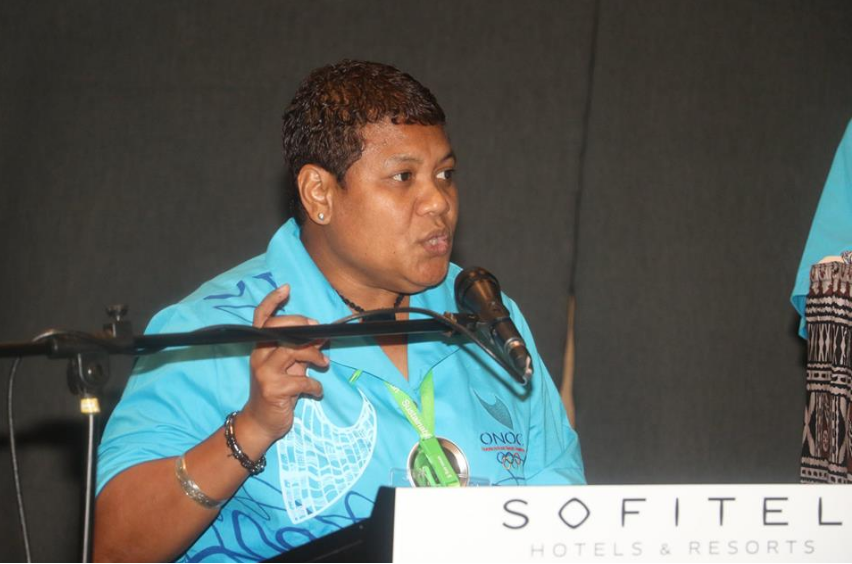 Mitchell confirmed as ONOC President as first female vice-president elected