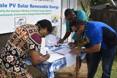 Community-scale solar Photo-Voltaic system for Pentecost communities