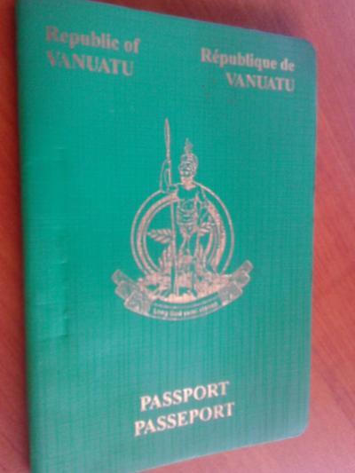 Upgrade for Vanuatu Passport