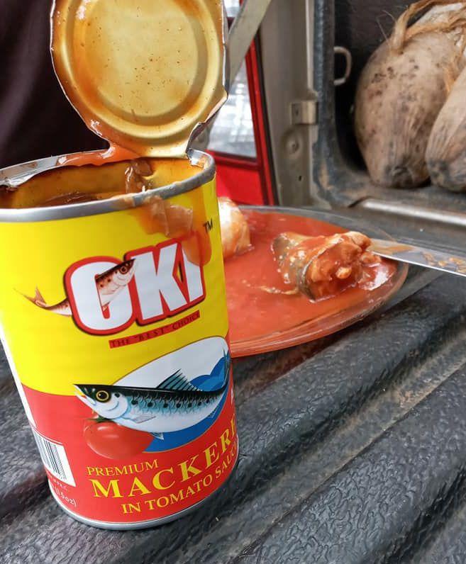Gov't bans importation of OKI tinned fish