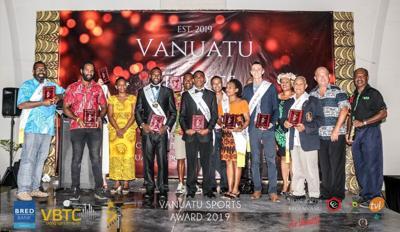 Rii and Lulu take Home Major Honors At Inaugural Vanuatu Sports Awards