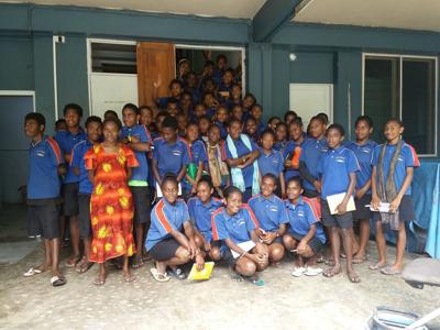 Ecole d'Anambrou Students Visit Daily Post