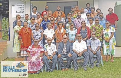 Tourism officers in professional development workshop