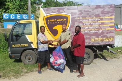Eagle Watch Security i givhan long Ifira Rugby 7s tim