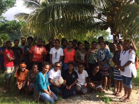 First Ni-Vanuatu students taking Bachelor Degree Courses in Tourism and Hospitality.