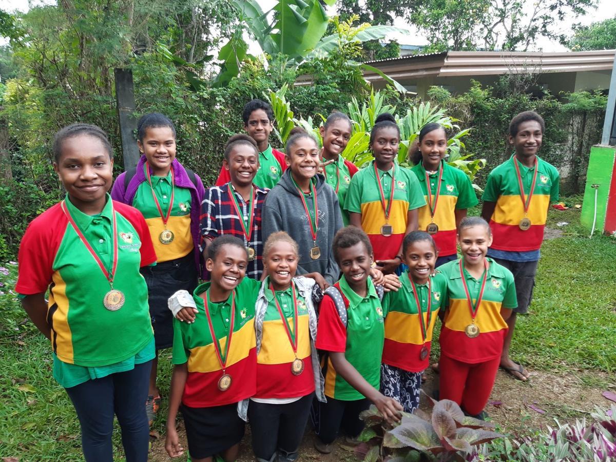 Sumanetts One and Pikinini Playtime 2 wins youth mix netball tournament