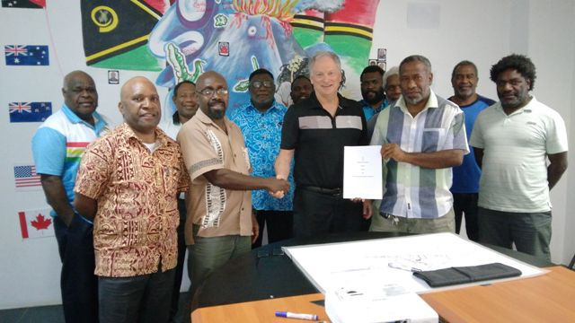 Van2017 signs Agreement with Land Transport Authority
