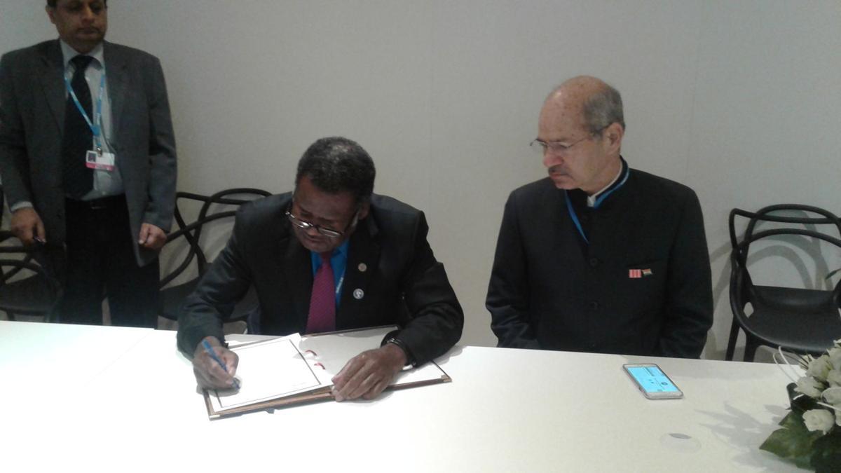 Vanuatu now a signatory to International Solar Alliance