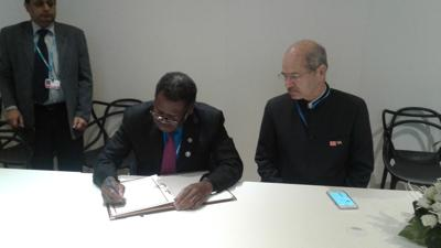 Vanuatu now a signatory to International Solar Alliance