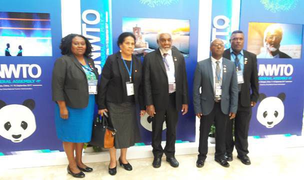 Vanuatu attends 22nd General Assembly of the UN World Tourism Organisation