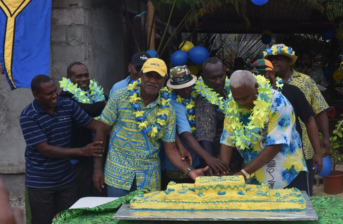Mele village officially launches New Nations Party
