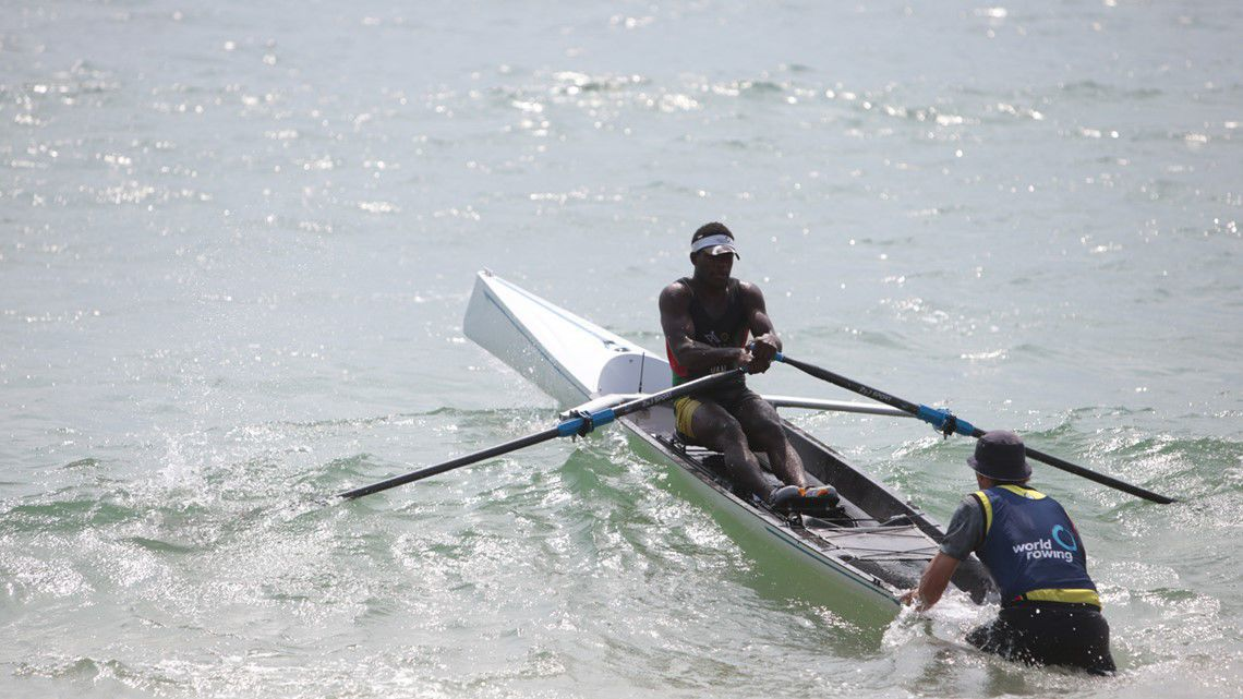 Rio Rii records fourth fastest time at World Rowing Beach Sprint Finals