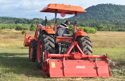 New Tractor Shed for Department of Agriculture
