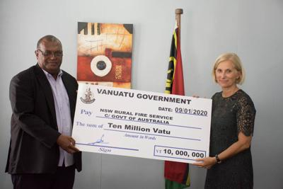 Australia and Vanuatu always stand together in times of need