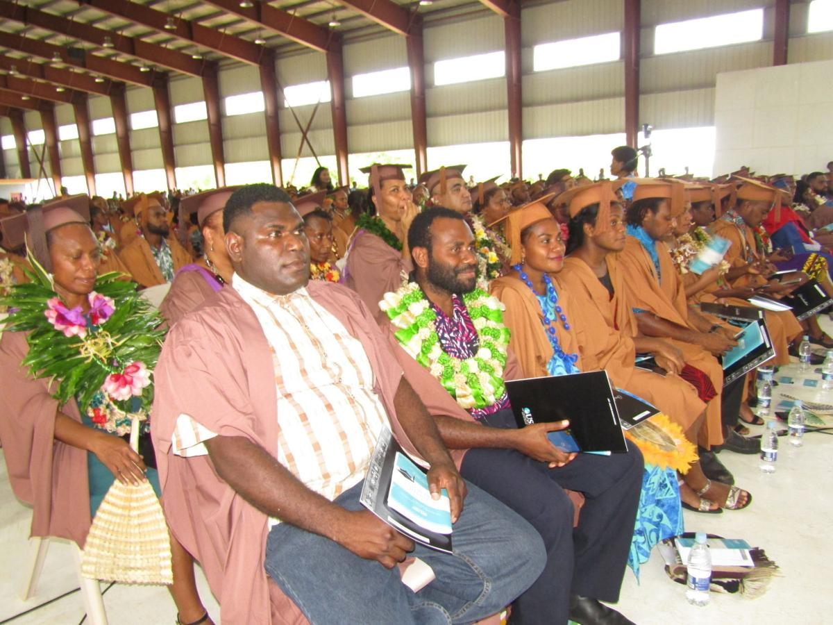 USP graduands encouraged to be the change for themselves, their family, nation and region