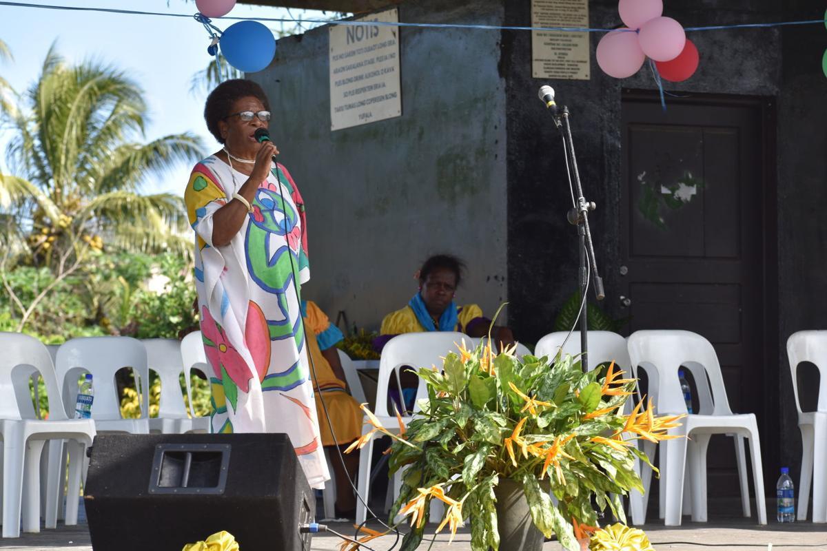 Motarilavoa calls for unity among women