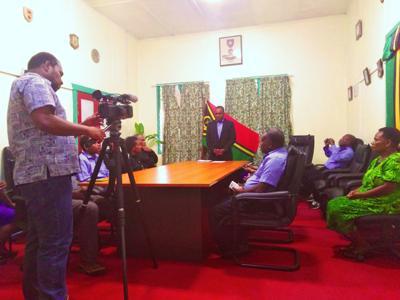 Ministry of Internal Affairs Supports Vanuatu Table Tennis Team