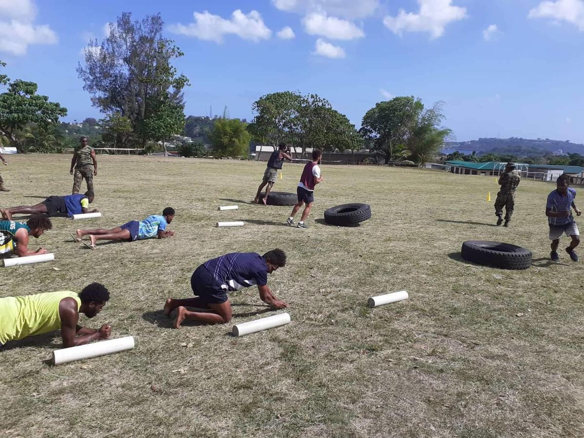 Vanuatu rugby men 7s team has team bonding session at VMF