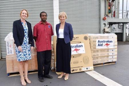 Australia provides further supplies for Ambae