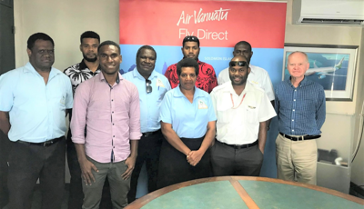 Five Air Vanuatu Pilots Awarded Scholarship