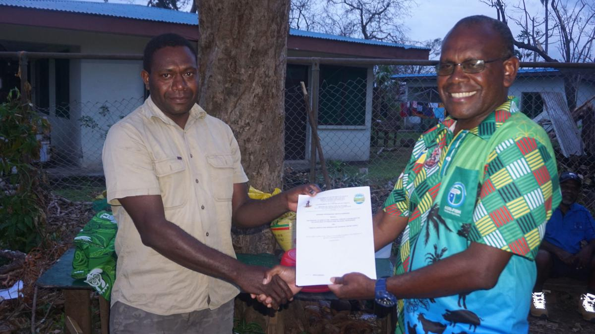 MALFFB signs PPSA with local institution to commence cyclone and COVID-19 disaster recovery