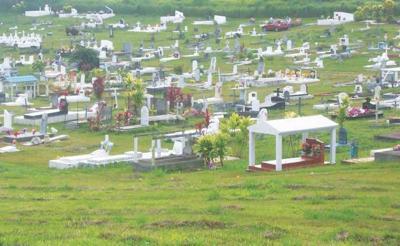New proposed Cemetery Site next to Etas dumpsite