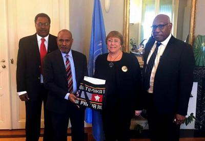Indonesia condemns Vanuatu for including West Papuan in UN delegation