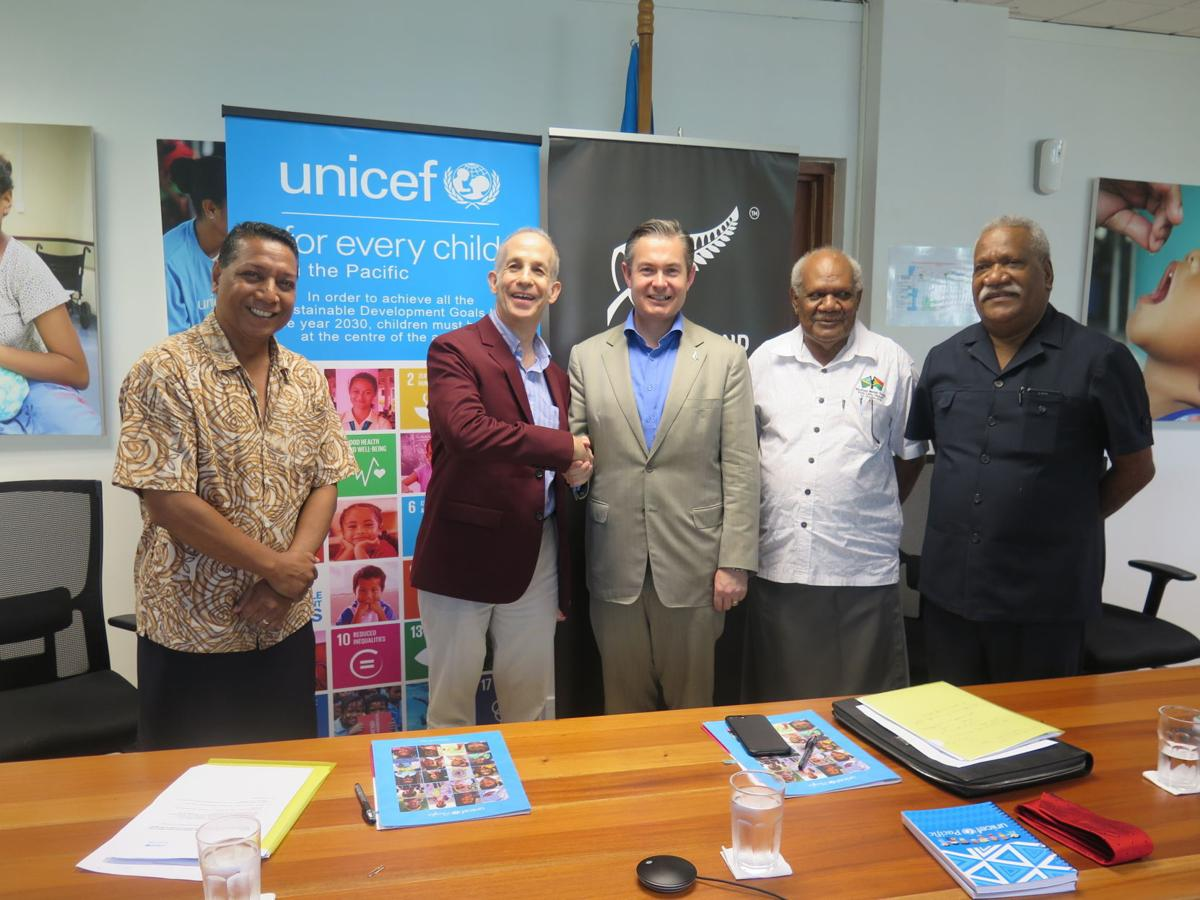 Vanuatu to benefit from UNICEF and NZ partnership
