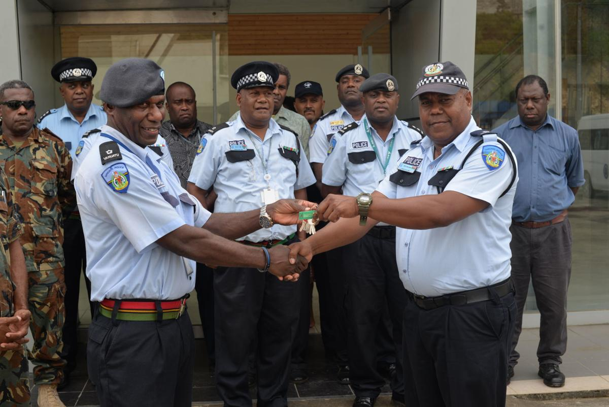 Police on the move to second temporary office