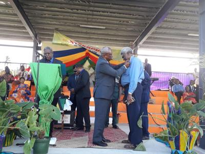 Minister Nirua's Services Recognised