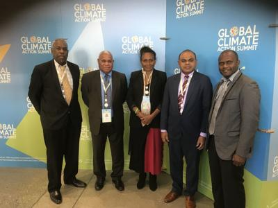 Loughman at Global Climate Summit