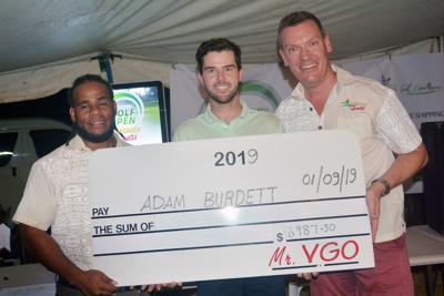Adam Burdett wins Vanuatu Golf Open