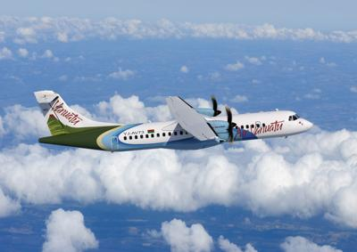 Air Vanuatu resumes commercial flights to and from Longana airport