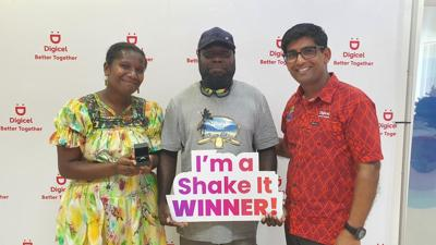 Digicel Announces Valentine's Win a Ring Promotion Winner